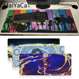 2019 sailor moon juegos MaiYaCa Non Slip PC Sailor Moon anime Único Teclado de escritorio Teclado Mat Mousepad Oficina Ratones Gamer Soft anime Alfombrilla de ratón rebajas sailor moon juegos