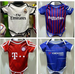 Fr home Baby soccer Jersey For 6 To 18 Month 2018 World Cup Franco soccer  Shirt  6 POGBA  7 GRIEZMANN  10 MBAPPE Baby Football uniforms 35ee4944a