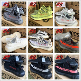 Wholesale Shoes For Fitness - Brand New Yeezy 350 V2 Cream White Yellow Black Red Grey Yeezys Boost For Women And Men Eur Size 36-46