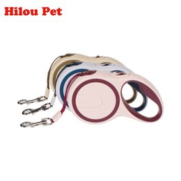 Wholesale Automatic Pet Dog Traction Rope - New ABS High-Grade Stable Durable 10ft and 16ft Automatic Retractable Dog Traction Rope Leashes Pet Leads 3M