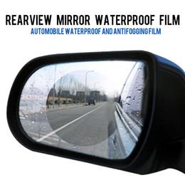 2019 bmw rückspiegel 50pcs Regendicht Auto Rückspiegel Film Aufkleber Anti-fog Schutzfolie Regen Schild Für BMW E60 525i 528i 530i 535i 550i E61 günstig bmw rückspiegel