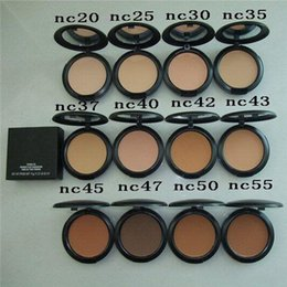 Wholesale New Powder Plus Foundation - New Make Up NC20.25.30.35.37.40.42.43.45 15g Studio Fix Makeup Face Powder Plus Foundation