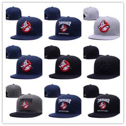 cappelli da uomo a basso costo Sconti I più venduti più recenti Ghostbusters Character Snapbcks Cappelli Regolabili Cappelli sportivi per Uomo Donna Baseball Caps Moda HIP HOP CAP CHEAP