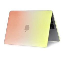 étuis pour ordinateur portable colorés Promotion Pour Macbook Pro 13 avec ordinateur portable Retina Slim Case Rainbow Colorful Case Pour New Pro 2016 2017 A1706 A1708