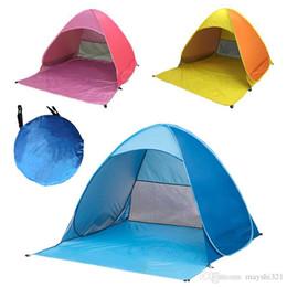 2019 tenda da campeggio auto 11 Colori rapida automatici Tende di apertura della spiaggia portatile pop up Camping Tende protezione UV familiari Tende di campeggio Shelter per 2-3 persone