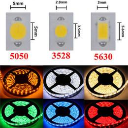 qualität geführtes streifenlicht Rabatt LED Streifen Licht DC12V 5M 300 Leds SMD3528 5050 5630 DiodeTape Einzelfarben Hochwertiges Farbband Flexible Home Decoation Lights