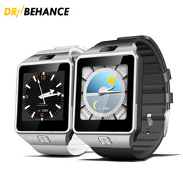 Wholesale 3g Remote - 20X SMARCENT 3G WIFI QW09 Android Smart Watch 512MB 4GB Bluetooth 4.0 Real-Pedometer SIM Card Call Anti-lost Smartwatch PK DZ09 GT08 DHL