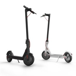 Wholesale Led Scooter Wheels - LK706 Xiaomi Aluminum Alloy Electric Scooter Adult Children Mini Portable Folding Double PU Wheeled Leisure Scooter LED Display