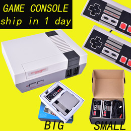Wholesale Mini Wi - Hot brand Mini TV Game Console can store 500 620 games Video Handheld for NES games consoles with retail boxs OTH733