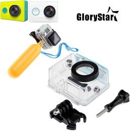 Argentina Funda para cámara de acción deportiva para Xiaomi Yi Caja impermeable Mi Yi Diving w / Floaty Bobber Monopod para Xiaomi Yi Accesorios Suministro