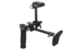 Ручка для установки камеры онлайн-DSLR ручка плеча поддержки Рог плеча поддержки стабилизатор Рог быстрый релиз пластины для A7 R A7ii цифровой видеокамеры DVD
