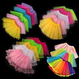 25 dress Australia - 25 Styles Girls Tutu Dress Baby Girls Performance Festival Dress Girl Dance Half Skirt Princess Skirt Star Lace Pretty Dresses Kids Clothing