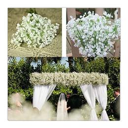all'ingrosso per piante artificiali Sconti Wedding Flower Pretty Artificial Falso Gypsophila Babys Breath Flower Plant Home Wedding Decor Commercio all'ingrosso di alta qualità