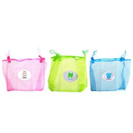 Deutschland Kind Bad Spielzeug Aufbewahrungstasche Organizer Net Saugkörbe Kinder Bad Mesh Tasche # K4UE # Drop Ship cheap net toy storage bags Versorgung