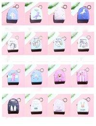 Sacs à dos mignons pour enfants en Ligne-Licorne dessin animé mignon clé sac nouvelle créative fermeture éclair petit sac à dos bébé enfants femmes cadeau enfants sac à main