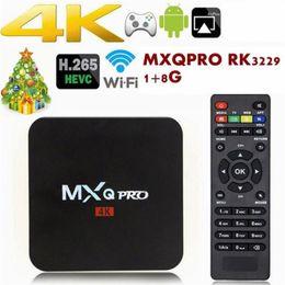 Коробка TV андроида 7.1 противоударный Pro с 4К четырехъядерный KD17.3 8г/1г встроенный S905W RK3229 смарт-телевизор коробка поддержка беспроводной 3Д от Поставщики hd media box iptv
