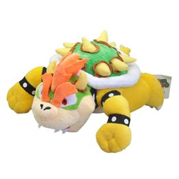 Discount doll 23cm - New 23CM Super Mario Bros Bowser Plush Doll