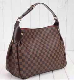 d9a331ba2080 Reggia handbag N63542 Damier canvas new shoulder bag TOP OXIDIZED REAL  LEATHER ICONIC BAGS TOTES CROSS BODY BUSINESS MESSENGER BAGS