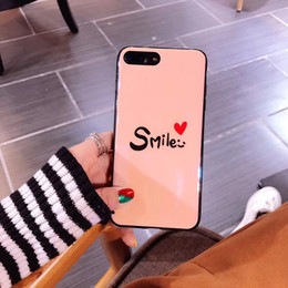 Capas de telefone de sorriso on-line-Pura kase para iphone x moda caso de telefone de sorriso case para iphone 6 plus, tpu case para iphone 5s se