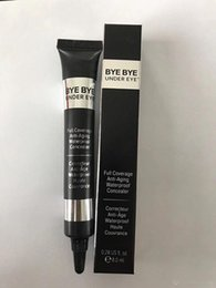 Wholesale Under Eye Makeup - New Hot makeup brand it cosmetics bye bye under eye Full Coverage Waterproof Concealer Light Medium DHL shipping+Gift