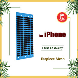 Wholesale Iphone 4s Replacement Screens - Ear Speaker Earpiece Anti Dust Screen Mesh for iPhone 4S 5G 5s 5c SE 6 6s 7 Plus 4.7 5.5 Replacement
