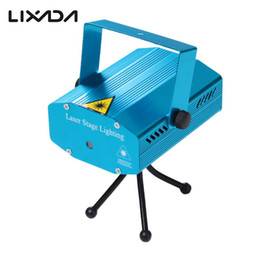 Wholesale laser music projector - 2017 Hot Sale Party Lights Dj Stage Light Music Laser Projector DJ Disco Xmas Club Stage Light Effect Patterns Voice- activated