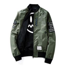 9af48251b5 2018 automne et hiver nouvelle mode de style de rue mode deux côtés portent  veste de baseball occasionnels veste veste européenne taille