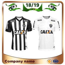 c64714570874d 2019 Brasil Atlético Mineiro camiseta de fútbol 18 19 Mineiro Casa   10  R.OLIVEIRA   9 V.CHARA Camiseta de fútbol Camiseta blanca de fútbol de  visitante ...
