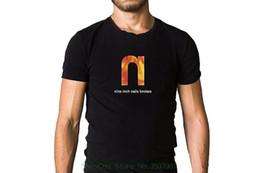 Canada 2018 Nouveau Mode T Shirt Hommes Coton Neuf Inch Nails Nin Cassé 1992 Album Cover Inspiré Noir T-shirt Offre