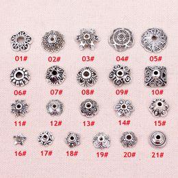 L'argent des perles bouchon réceptacle bijoux résultats de bijoux de bricolage faisant 200pcs / set ? partir de fabricateur