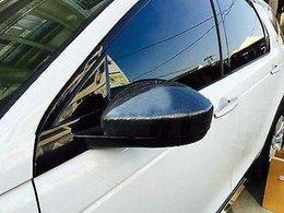 2019 capas de espelhos de carbono Estilo de Fibra De carbono Lateral Espelho Guarnição Da Tampa 2 pcs Para Jaguar F-Pace X761 2016 2017 desconto capas de espelhos de carbono