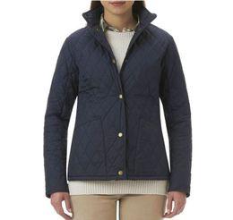 4e816f61299 Wadded Jacket Women Luxury Brand High quality Lodge Quilted Jacket Argyle Ladies  Coat Big Pockets Plus Size Clothes