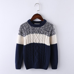 a9d493f2320e autumn winter boys girls kids cotton sweater knitted bottoming turtleneck  solid unisex pullovers warm outerwear sweaters