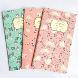Floral Blank Kraft Papier Carnet Recite Words Learn Foreign Language Planificateur Étudiant École Fourniture de Bureau Enfants Cadeau ? partir de fabricateur