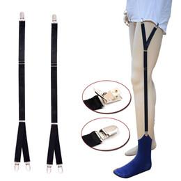 Argentina New Unisex Shirt Stays Garter Belt Suspenders Elastic Men Braces for Shirt Holder Tirantes Adjustable Socks Fastener Suspender Suministro