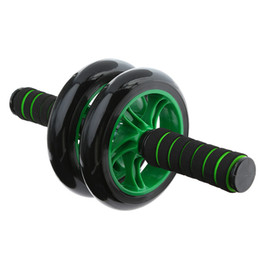 Wholesale Roller Abdominal Exercise - appareils de musculation fitness Abdominal wheel Fitness waist and abdomen exercise double wheeled