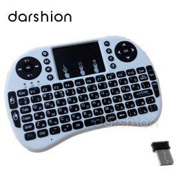mini pad mobile phone NZ - Russian keyboard Mini special keyboard for pad and mobile phone , wireless USB 2.4G lithium battery