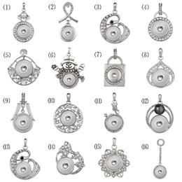 Canada Charme de mode s'enclenche bouton pendentif collier argent antique noosa 18mm gingembre snap diy bijoux avec chaîne fit femmes hommes cadeaux cheap antique sterling silver pendants Offre