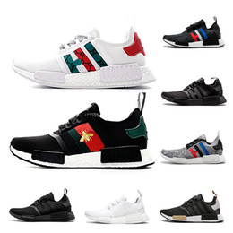 8e8f9bc4f Nmd R1 Running Shoes For Men Women Nmds Runner Primeknit PK OG Triple Black  Sports Sneakers Luxury Designer Shoes Size 36-45
