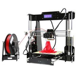 ugello di stampa 3d Sconti Anet A8 3D Printer High Precision Imprimante 3D Kit FAI DA TE 0.4mm Ugello Large Printing Size 3D Desktop Acrilico LCD Screen Printer VB