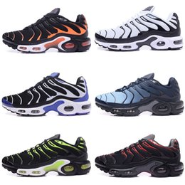 Wholesale Tn Max - 2018 Maxes TN Running Shoes Men Blue Sport Trainers Camouflage Plus Maxes Shoes Chaussure Femme Homme Man Replica Sneakers 40-46