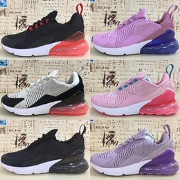 Wholesale cheap ladies sneakers - 2018 New 270 Shoes KPU Running Shoes Plastic Cheap 270s Lady Training Outdoor High Quality Woman Trainers Zapatos Casual Sneakers