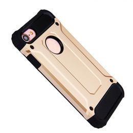 Iphone caso armatura dura online-Custodia rigida antiurto per telefono con armatura resistente all'usura per iPhone X XR 8 7 Plus XS MAX 9 PC ibrido rigido TPU SCA507