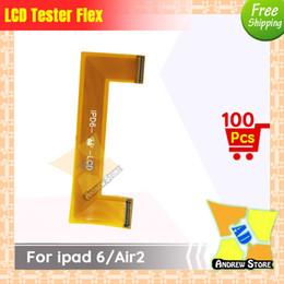 Câble d'extension d'écran lcd en Ligne-100pcs / lot Haute Qualité LCD Testeur Extension Testeur Flex Câble pour ipad 6 / air2 livraison gratuite