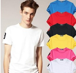 Wholesale Size Small Shirt - Hot Sale 2018 New Polo Shirt Men Big small Horse crocodile perry Embroidery LOGO Big Size Short Sleeve Mens Polo Shirts