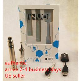 elektronische zigarettenkipper batterie Rabatt Authentisches INVO XHK 900 mAh-Kit für trockene Kräuter- und Wachsvaporizer
