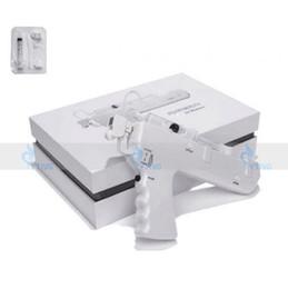Máquina de mesoterapia portátil online-Nuevo instrumento de inyección de alta presión portátil Vanadio Titanium sin aguja Mesotherapy Gun meso arma contra el envejecimiento máquina de cuidado de la piel