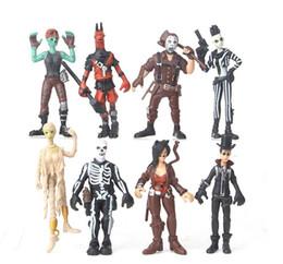 2019 figuren kunst 8 Art Fortnite Plastikpuppespielwaren 2018 neue Kinder 10cm Karikaturspiel fortnite Lama-Skeleton Rolle Abbildung Spielzeug günstig figuren kunst