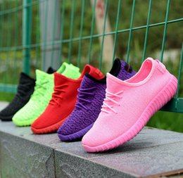 Wholesale Coconut Wholesale Free Shipping - Fashion Style Coconut Anti static anti wear Shoes men's shoes sneakers leisure fly weave couples running shoes - Free Shipping + Free Gift