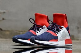 Wholesale Denim Boots For Women - 2017 Cheap Discount NMD XR1 all Red Black man Running Runner Boots for Women and Mens designer Outdoor High Top Sneakers Shoes Eur 36-45